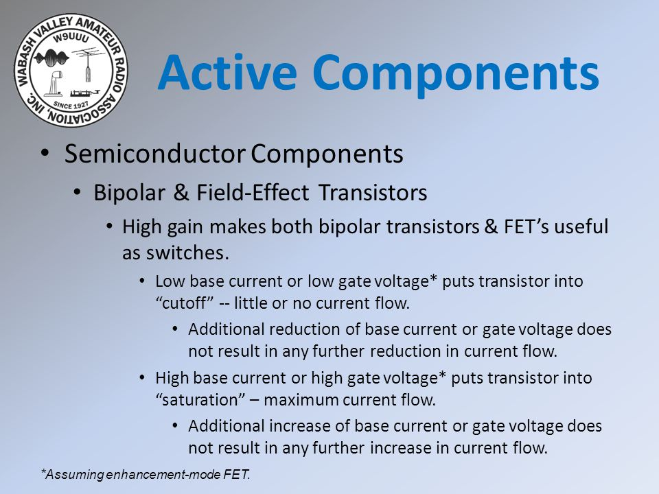 Active Components Semiconductor Components
