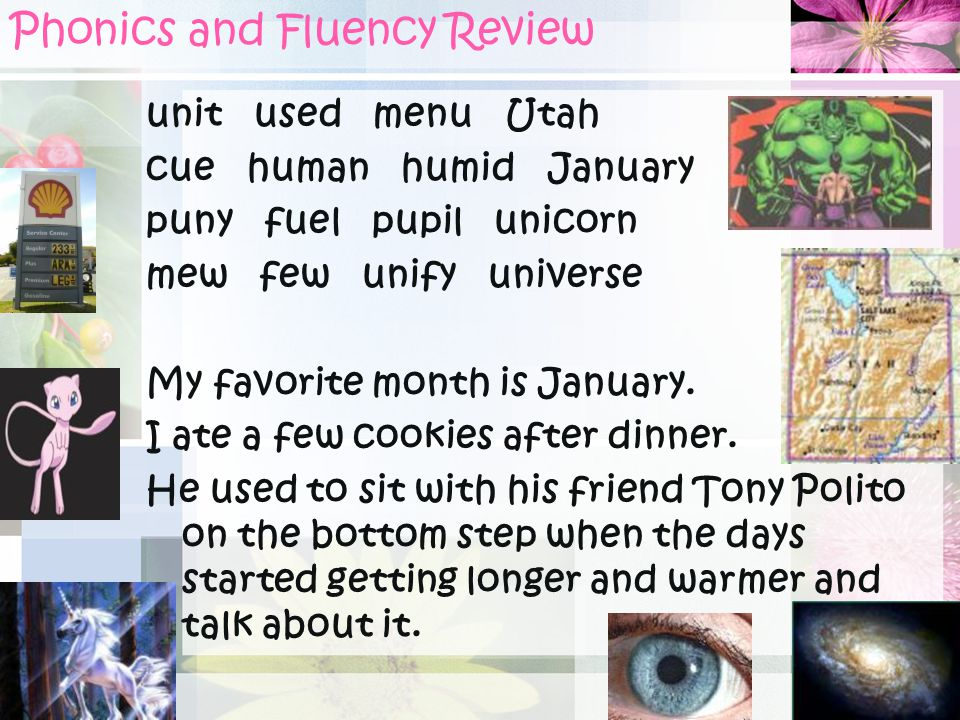 Phonics and Fluency Review