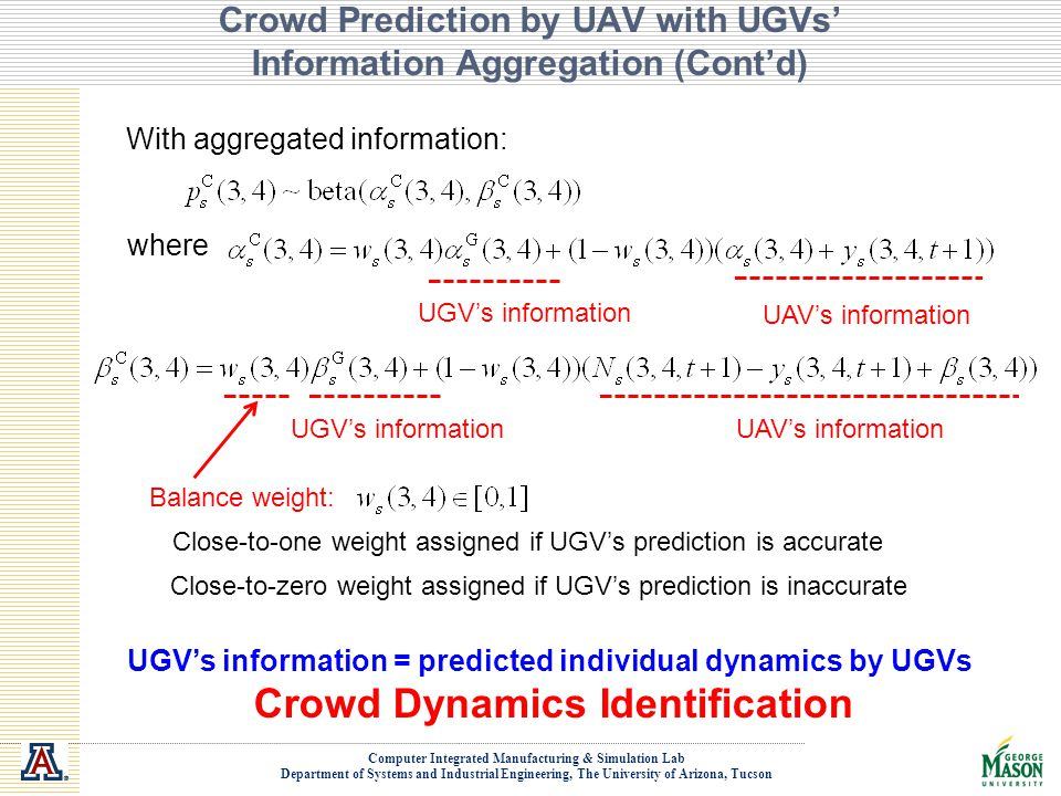 Crowd Prediction by UAV with UGVs' Information Aggregation (Cont'd)