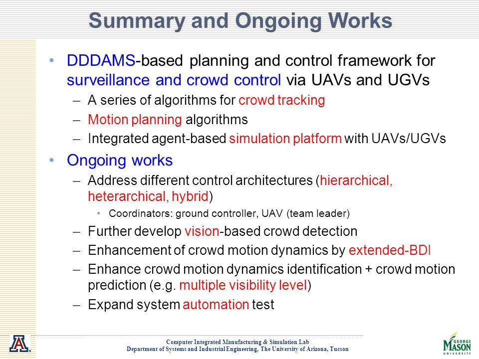 Summary and Ongoing Works