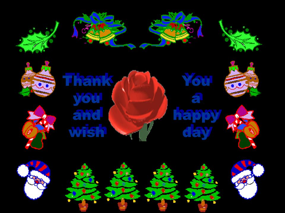 Thank you and wish You a happy day