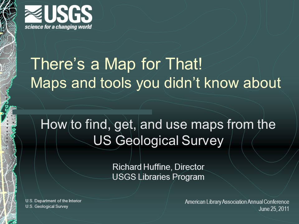 There's a Map for That! Maps and tools you didn't know about