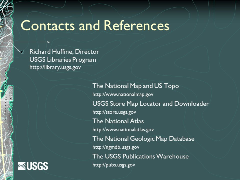 Contacts and References
