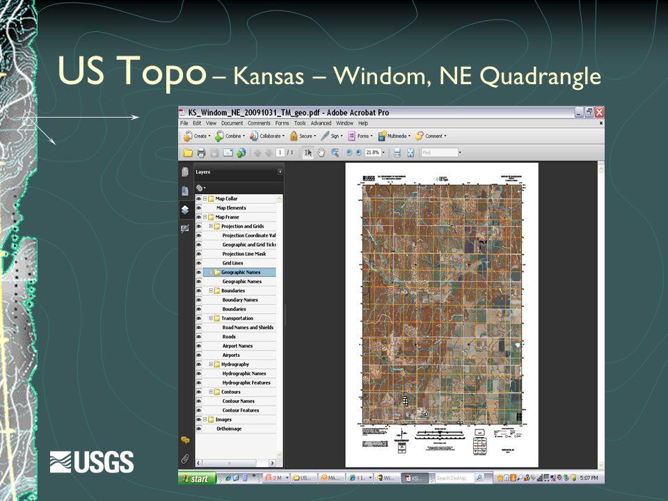US Topo – Kansas – Windom, NE Quadrangle