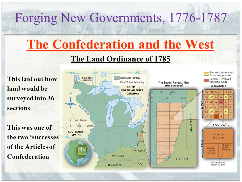Forging New Governments, 1776-1787