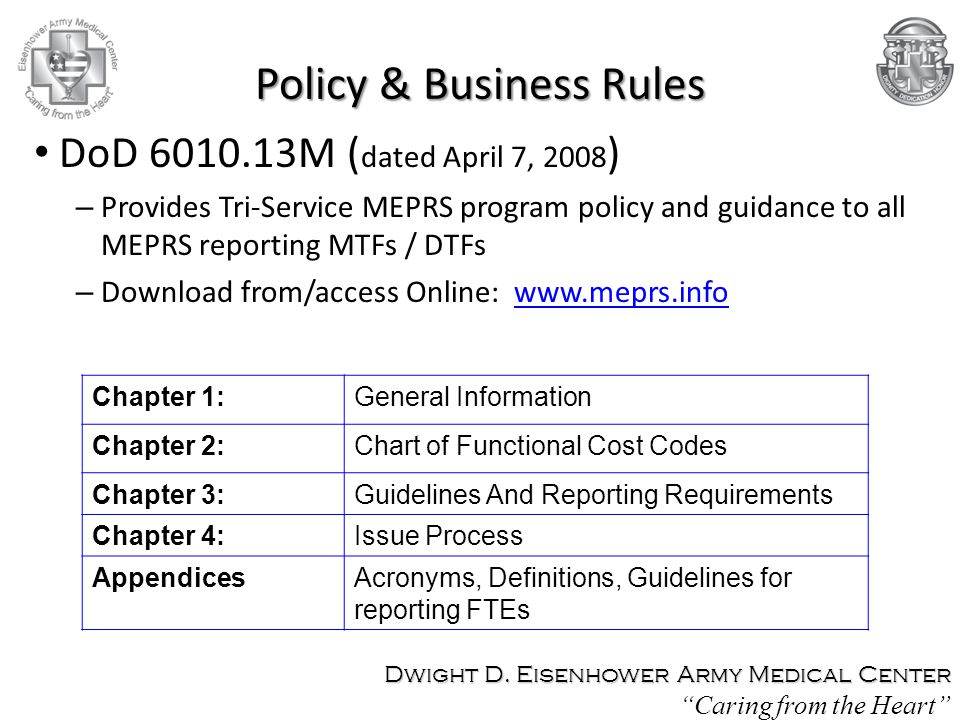 Policy & Business Rules