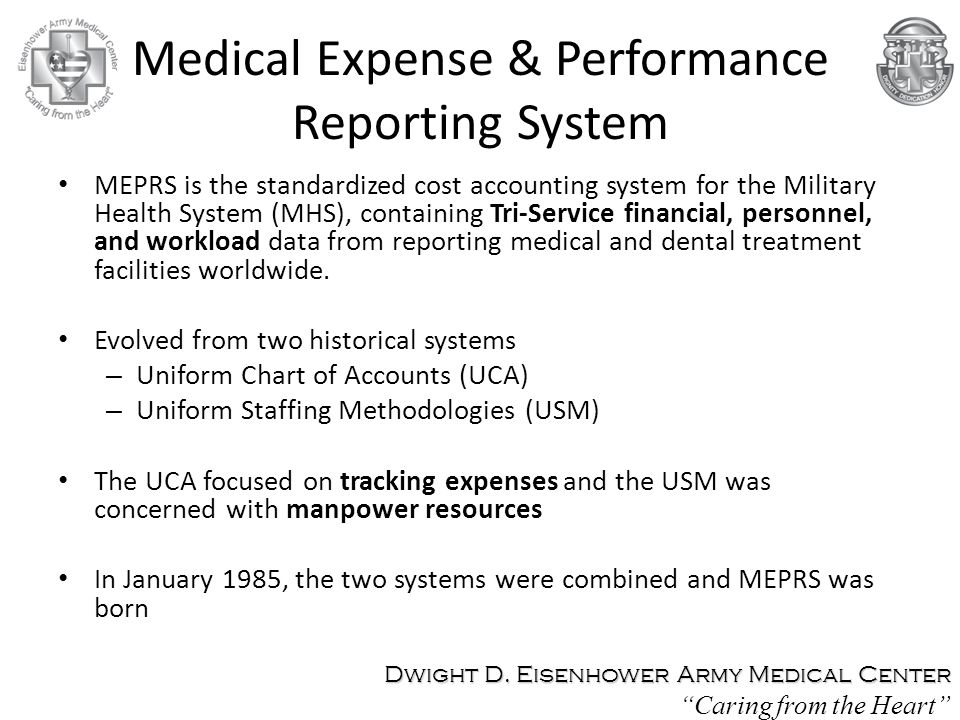 Medical Expense & Performance Reporting System