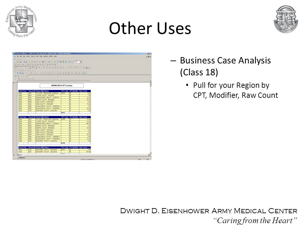 Other Uses Business Case Analysis (Class 18)