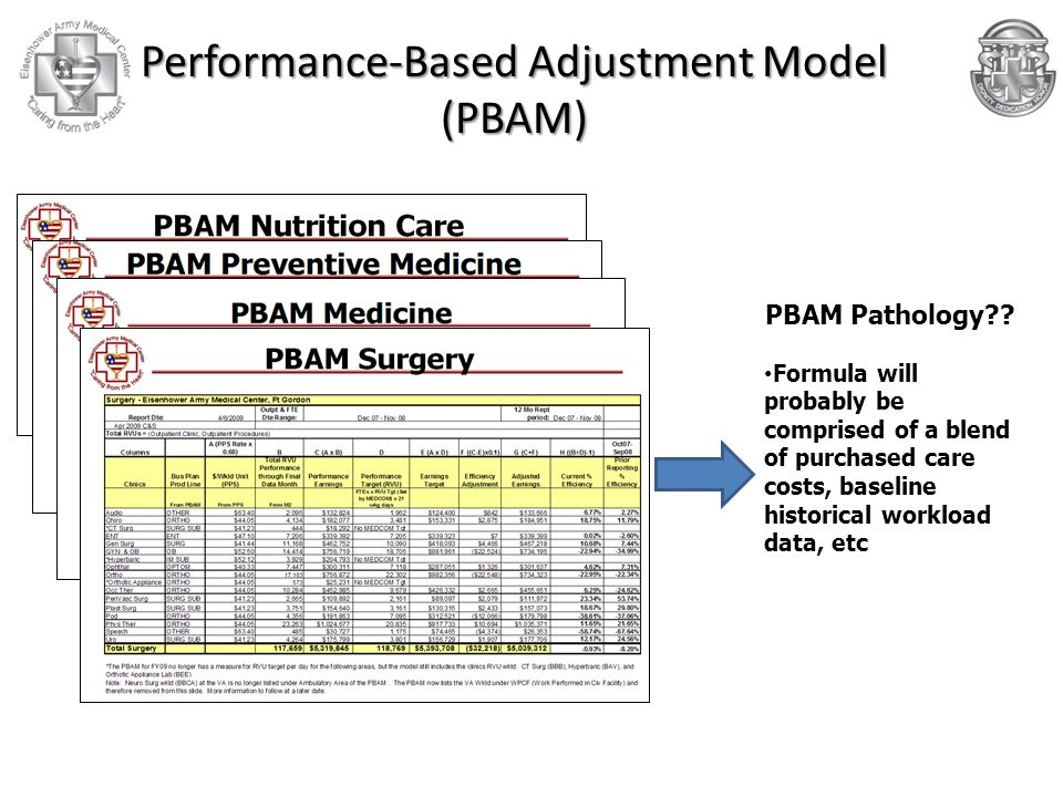 Performance-Based Adjustment Model (PBAM)