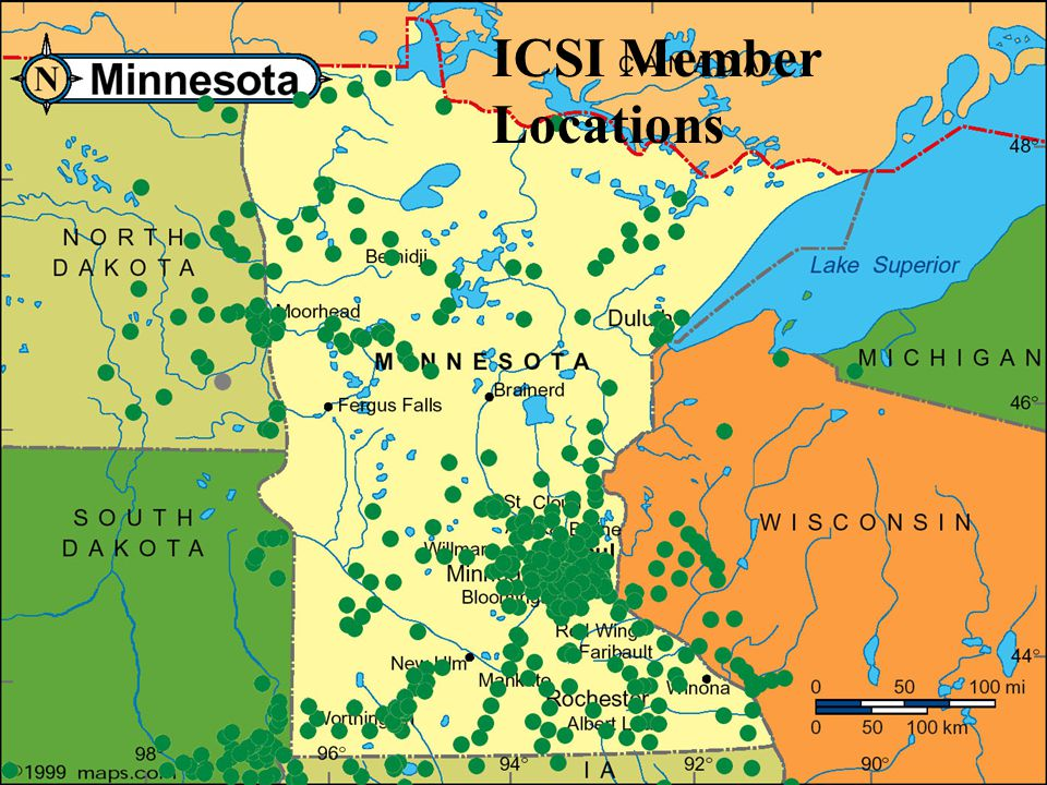 ICSI Member Locations