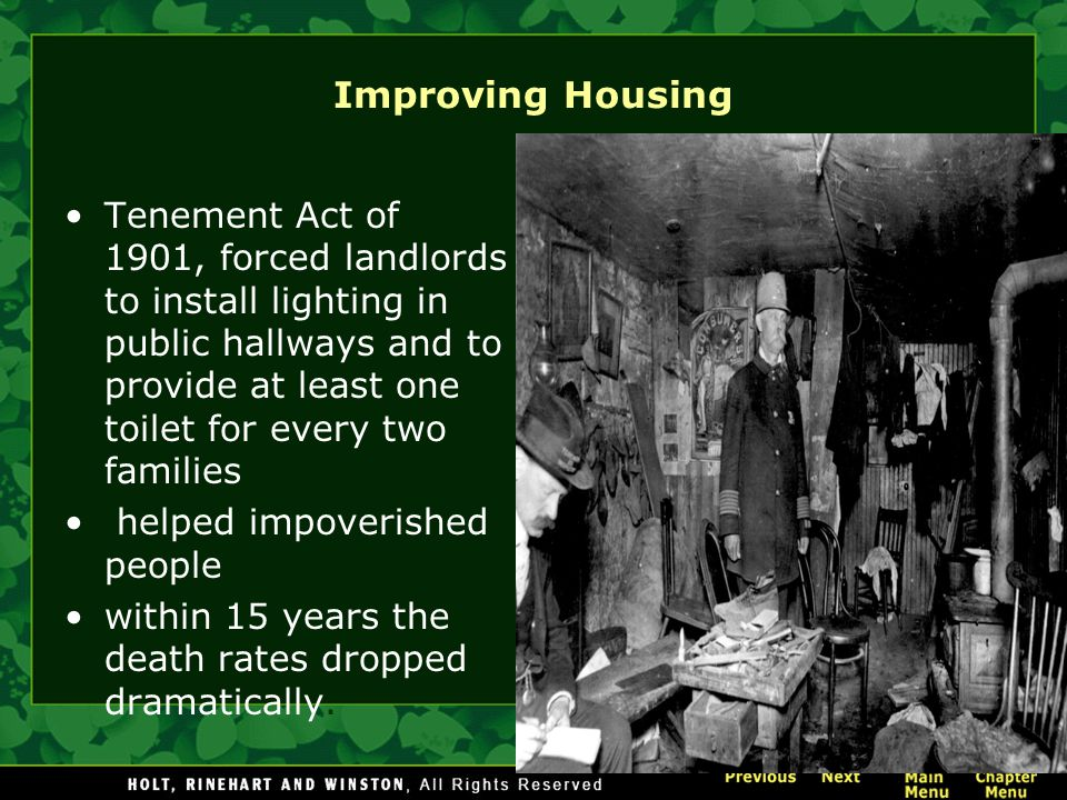 Improving Housing