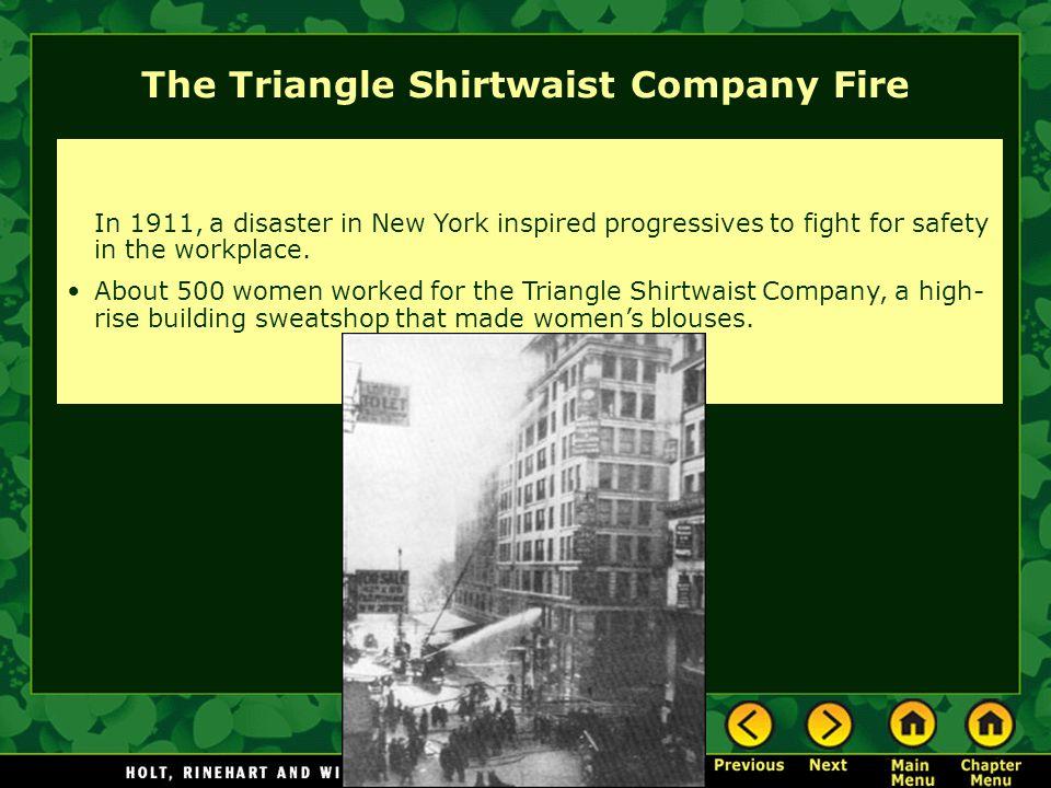 The Triangle Shirtwaist Company Fire