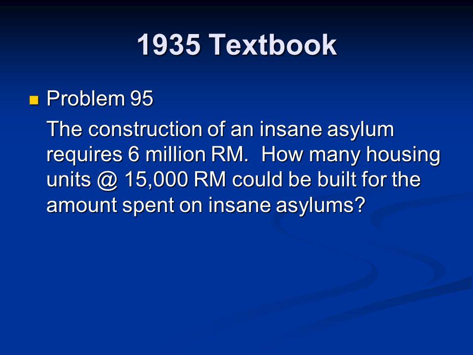 1935 Textbook Problem 95.