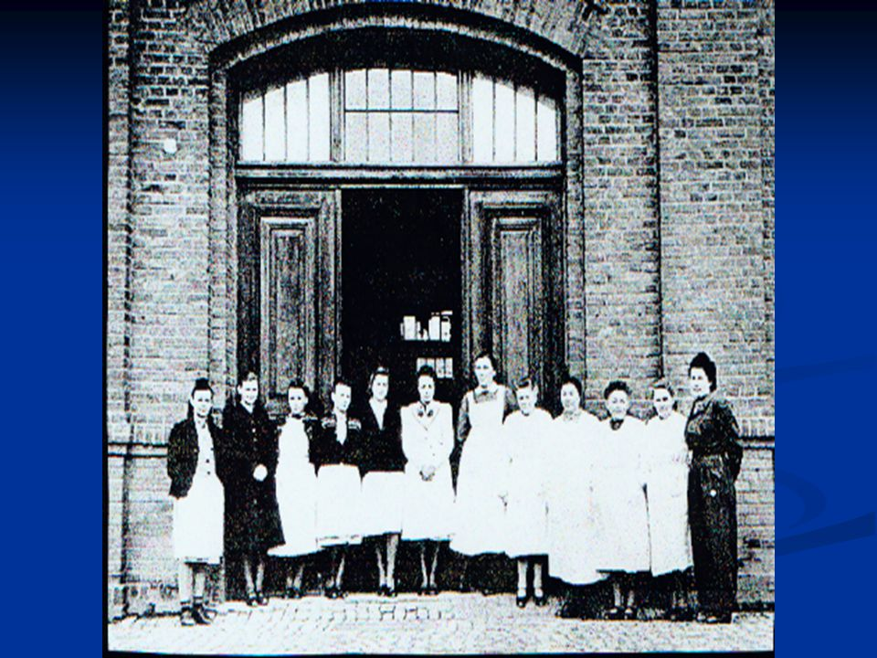 The nursing staff of Hadamar in 1945.
