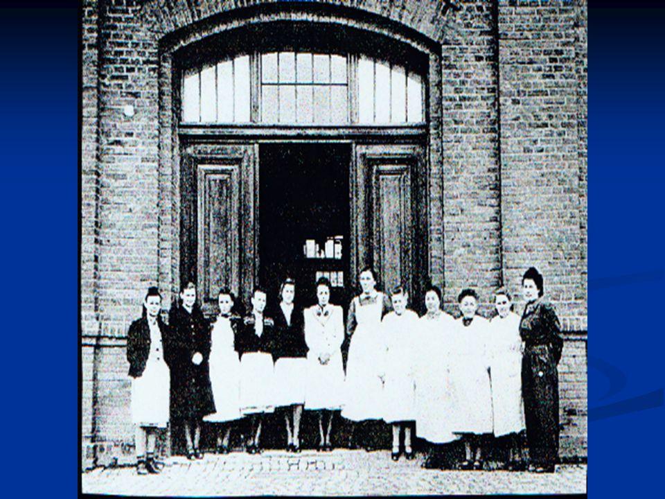 The nursing staff of Hadamar in 1945.