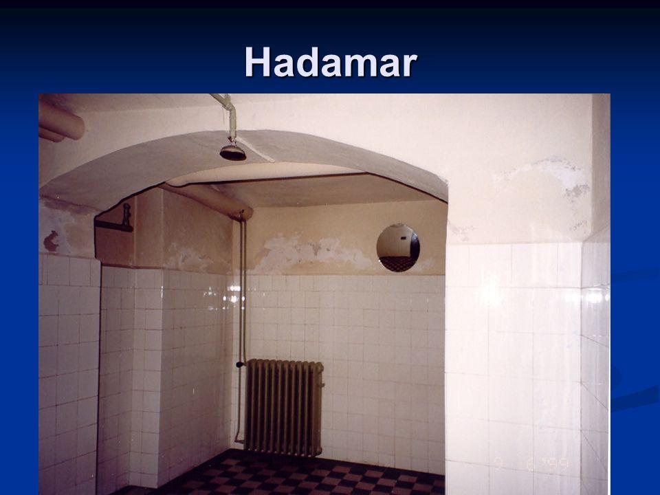 Hadamar Inside the gas chamber.