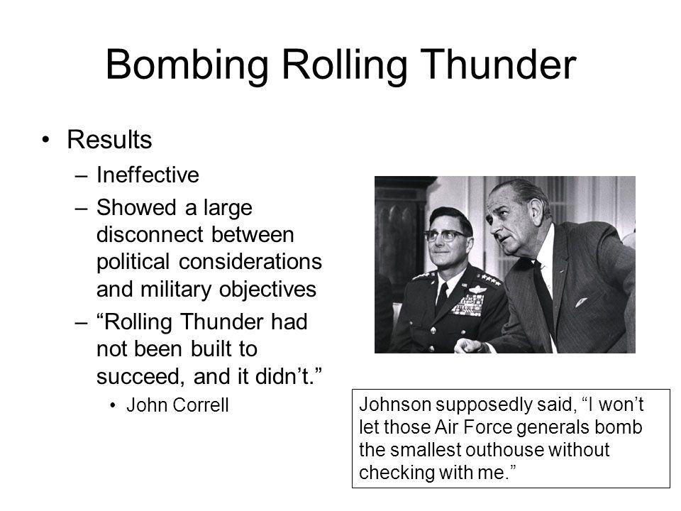 Bombing Rolling Thunder