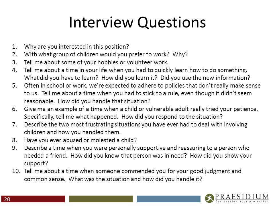 Red Flags In Interviews