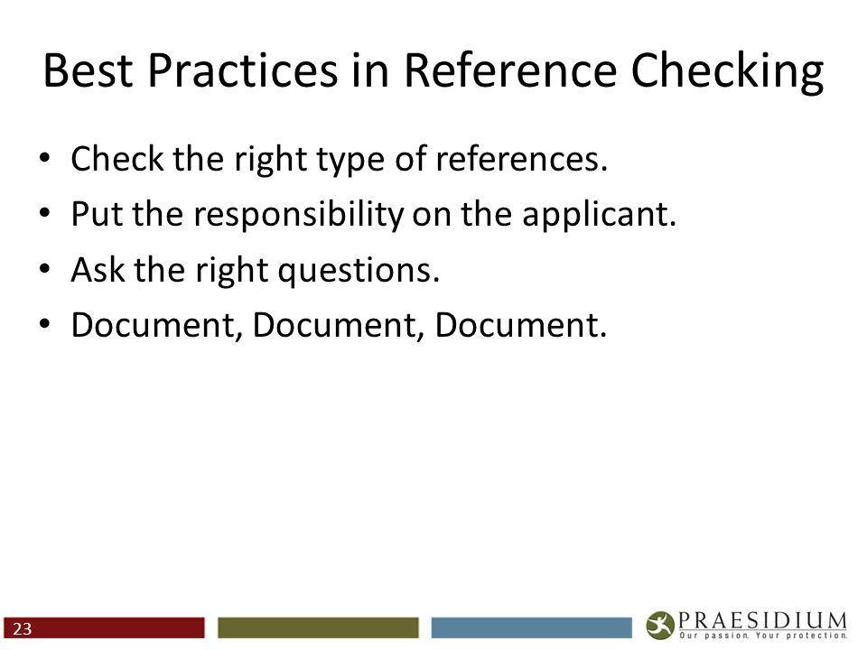 How To Obtain High-Quality References