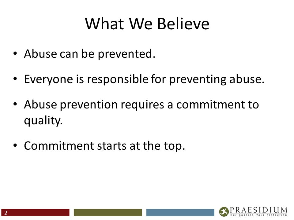 The Problem Adult-to-Child Abuse Child-to-Child Abuse