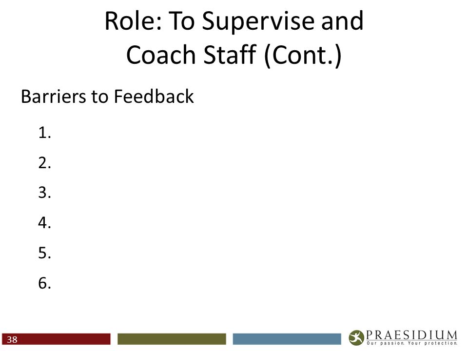 Factors That Effect Staff Success