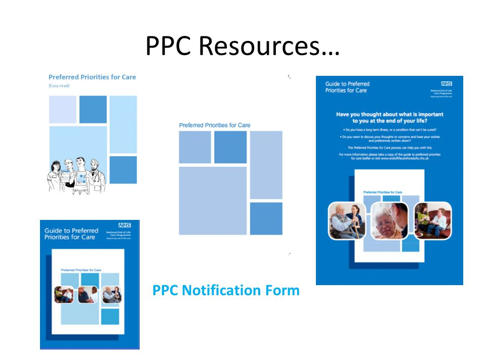 PPC Resources… PPC Notification Form