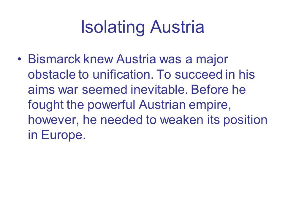Isolating Austria