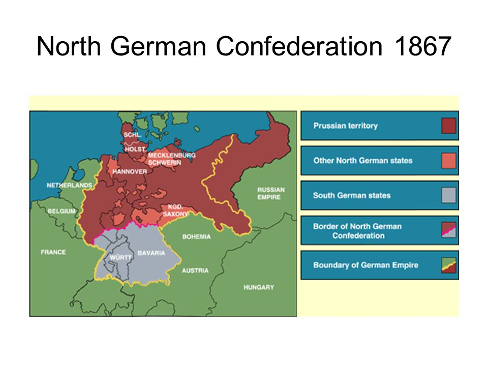 North German Confederation 1867
