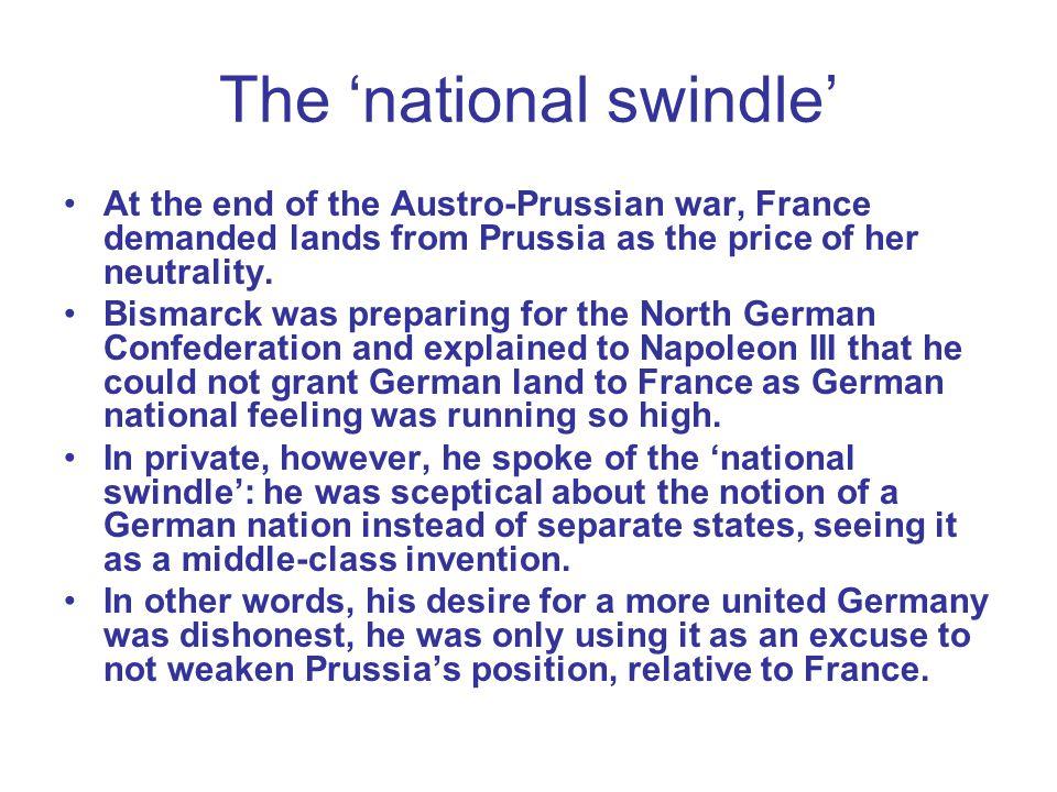 The 'national swindle'