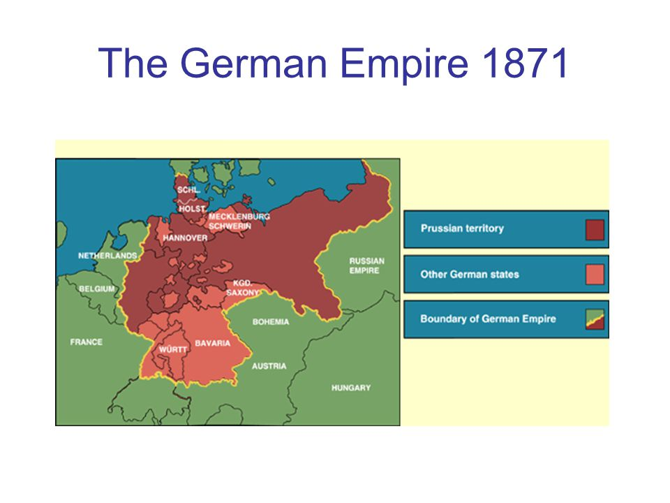 The German Empire 1871