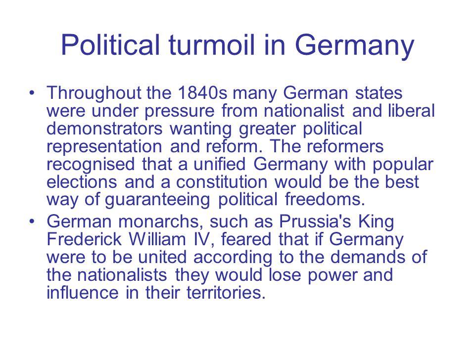Political turmoil in Germany