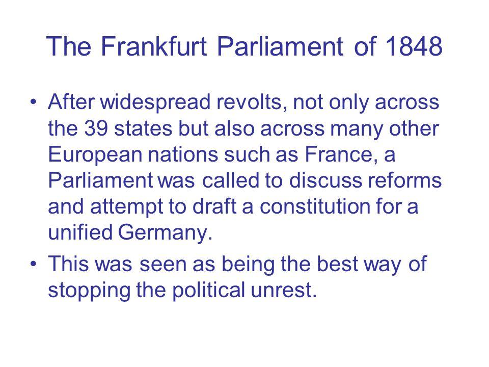 The Frankfurt Parliament of 1848