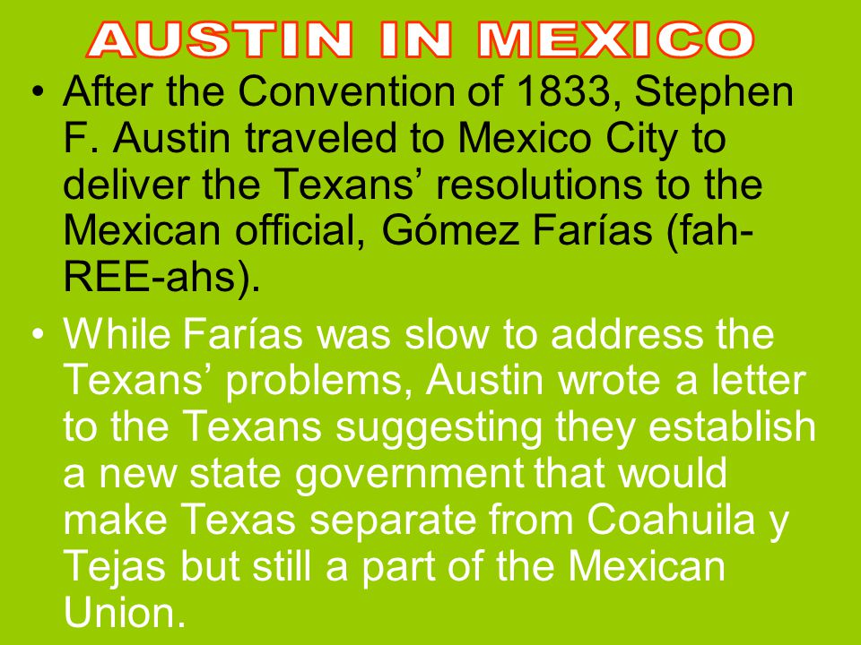 AUSTIN IN MEXICO