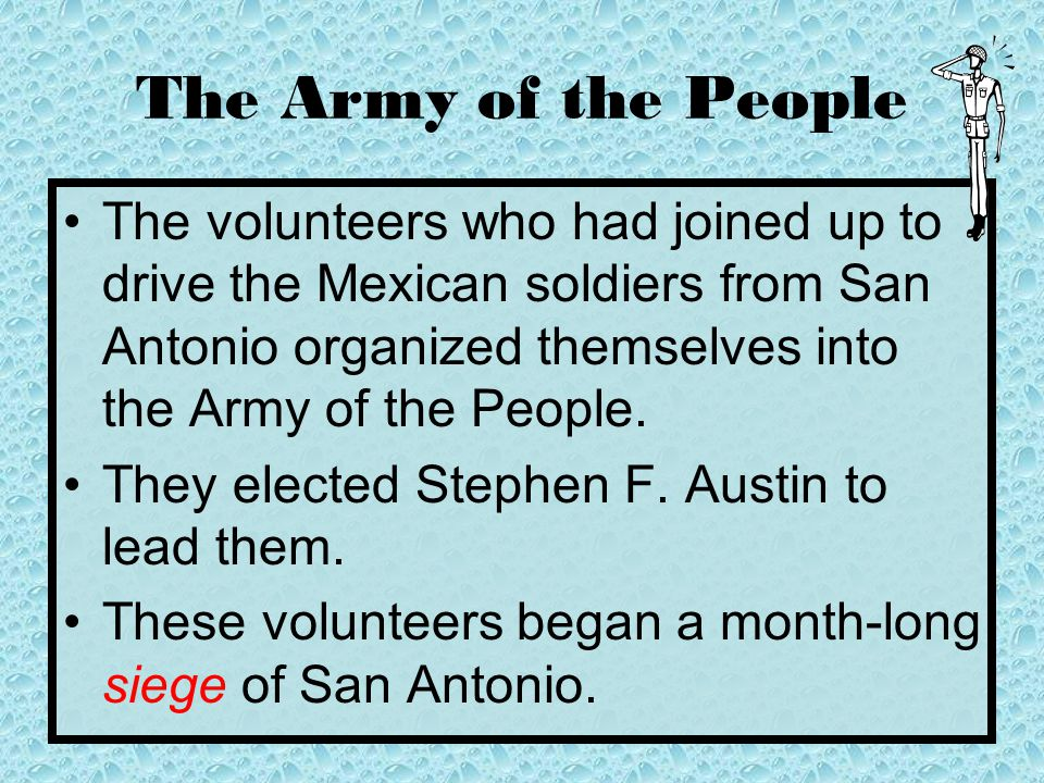 The Army of the People