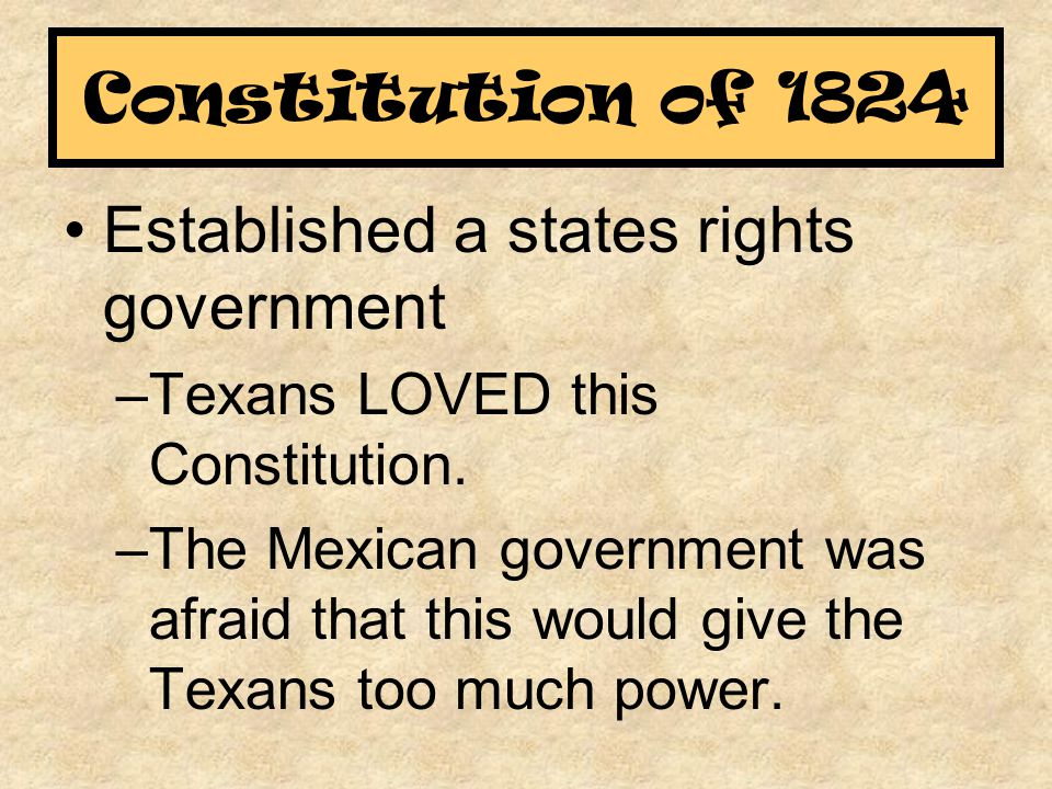 Established a states rights government