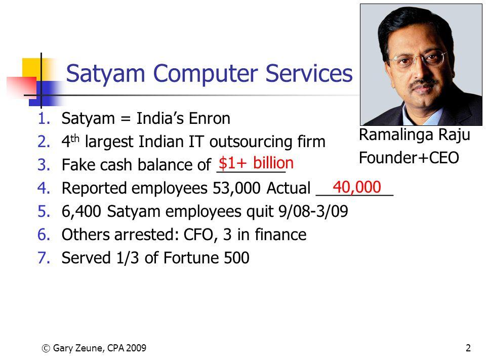Satyam Computer Services