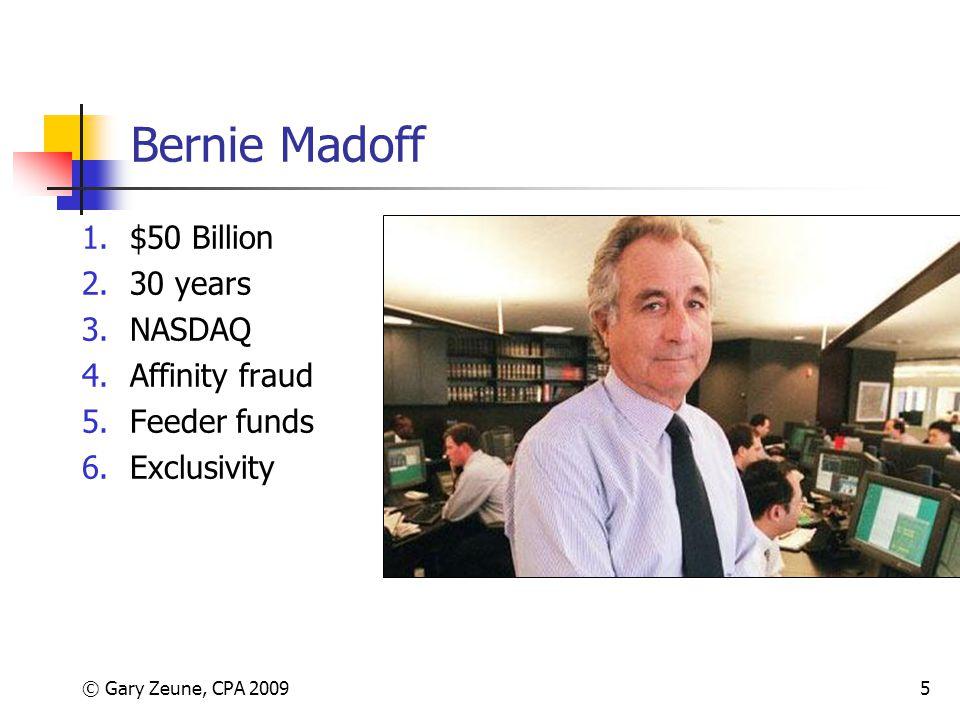 Bernie Madoff $50 Billion 30 years NASDAQ Affinity fraud Feeder funds