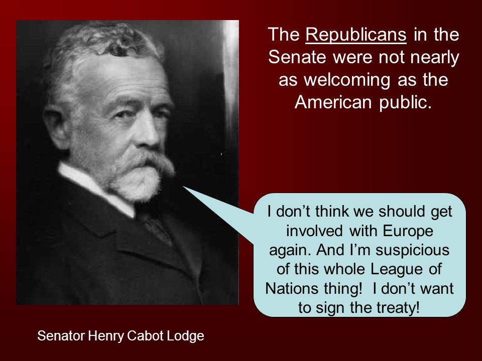 The Republicans in the Senate were not nearly as welcoming as the American public.