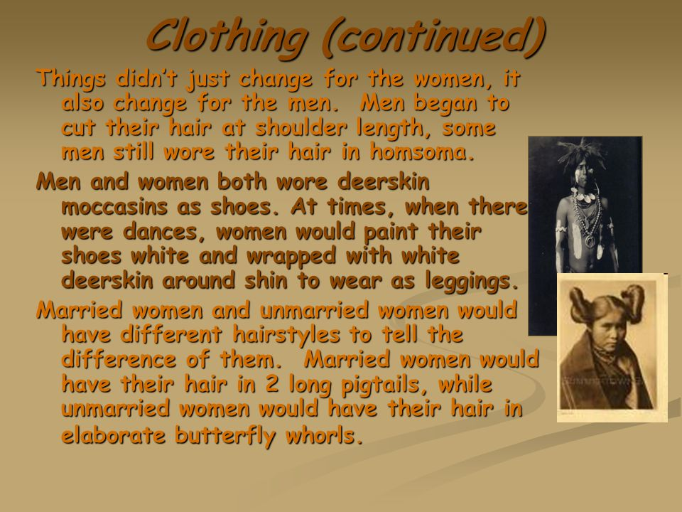 Clothing (continued)