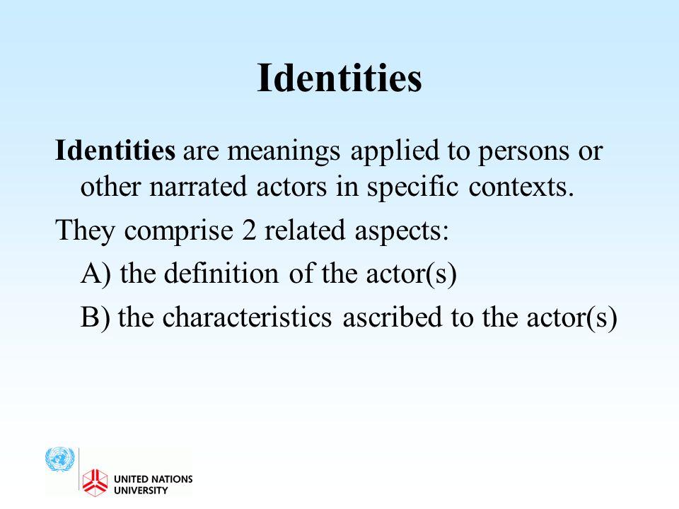 Identities