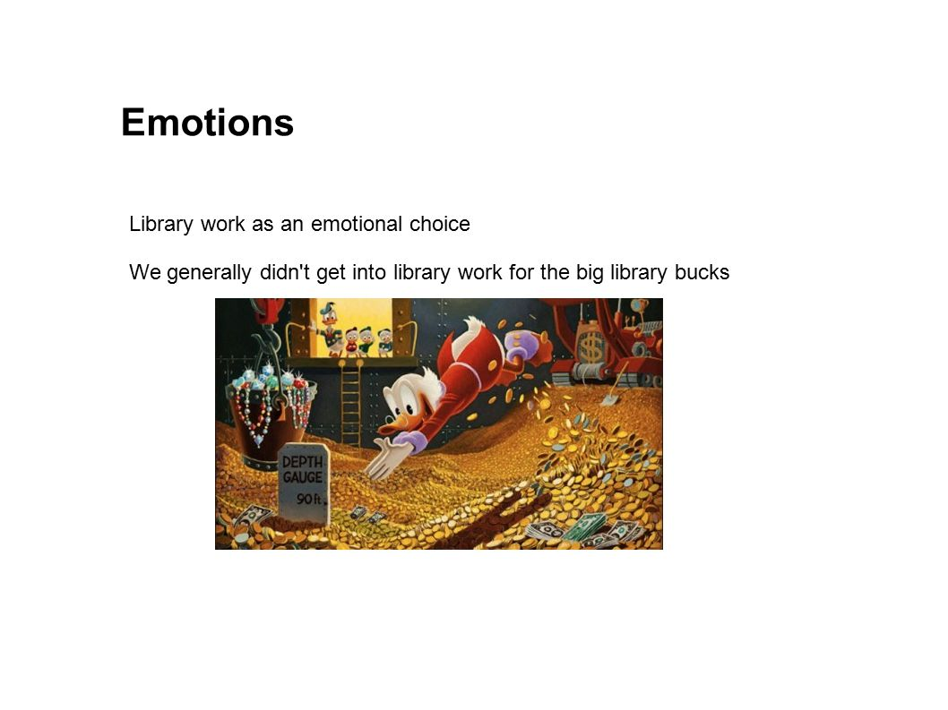 Emotions Library work as an emotional choice
