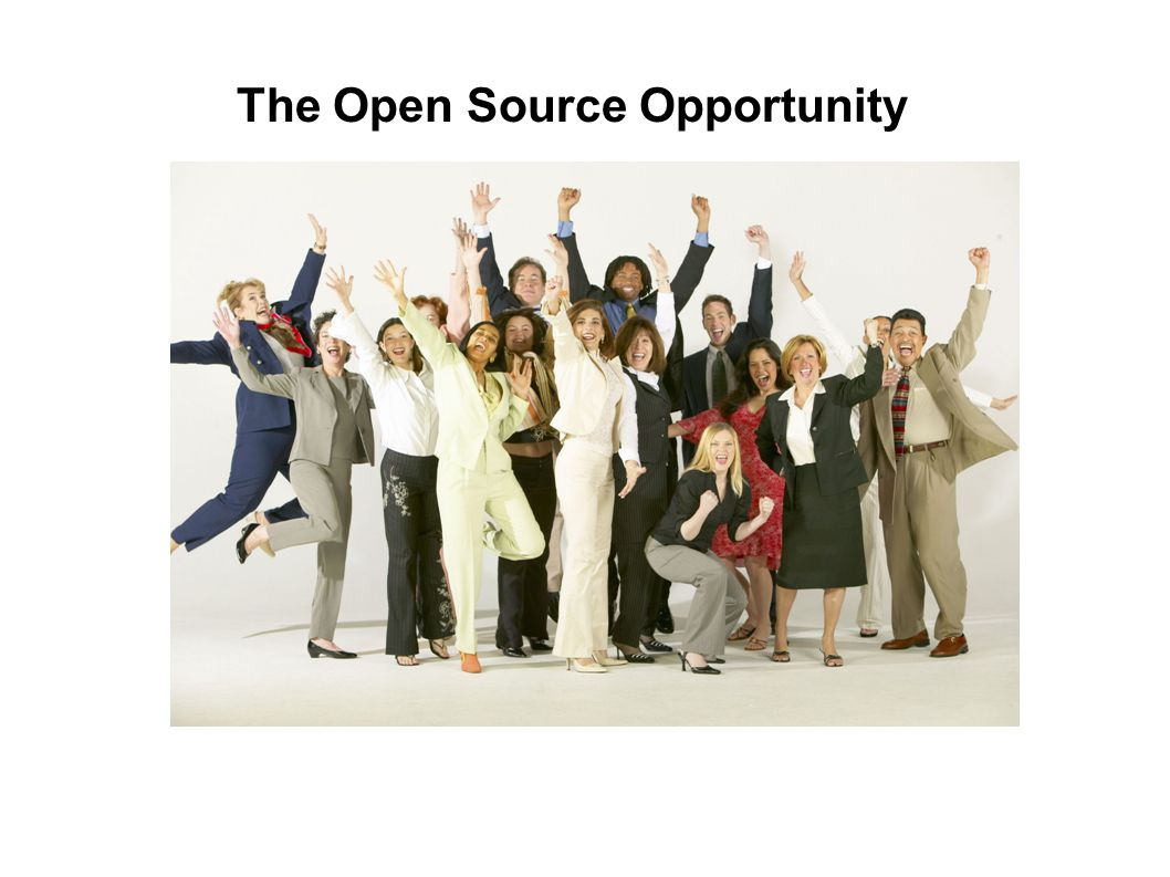 The Open Source Opportunity