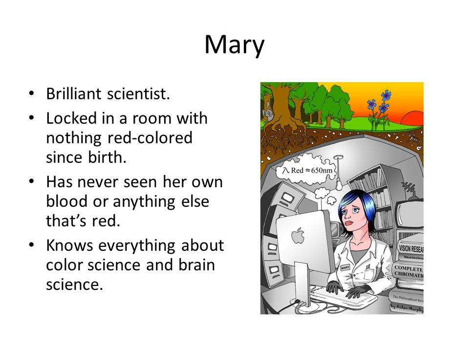 Mary Brilliant scientist.