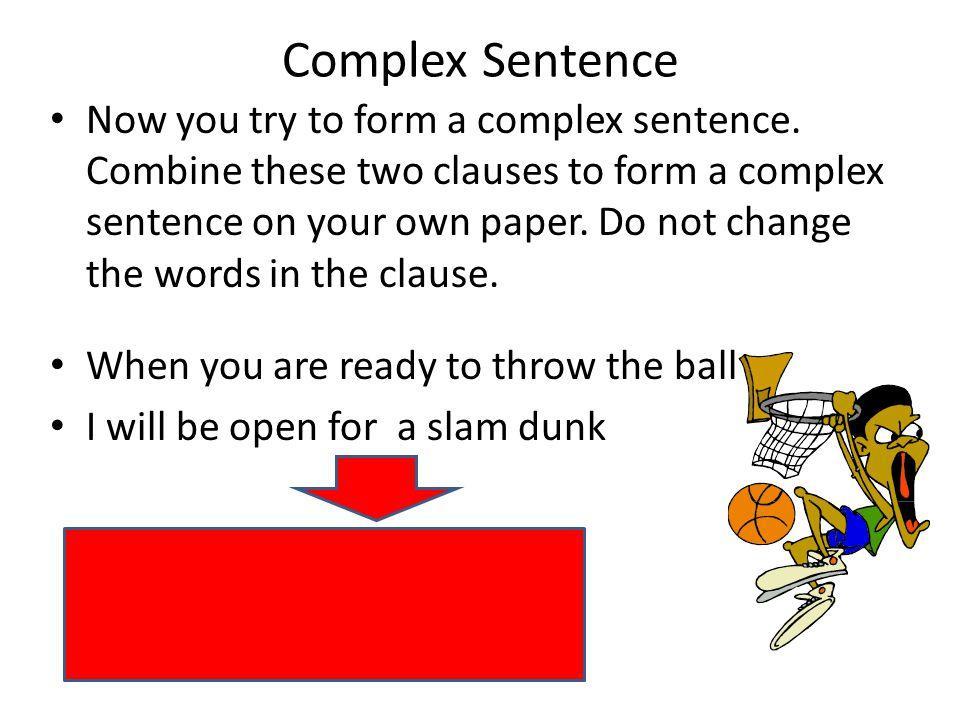 Compound Sentences Complex Sentences Simple Sentence Compound ...