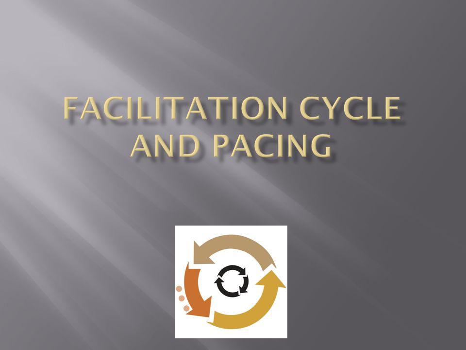 Facilitation Cycle and Pacing