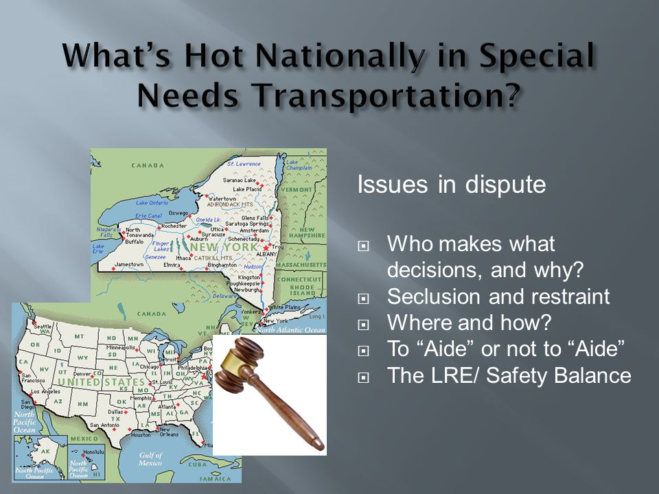 What's Hot Nationally in Special Needs Transportation