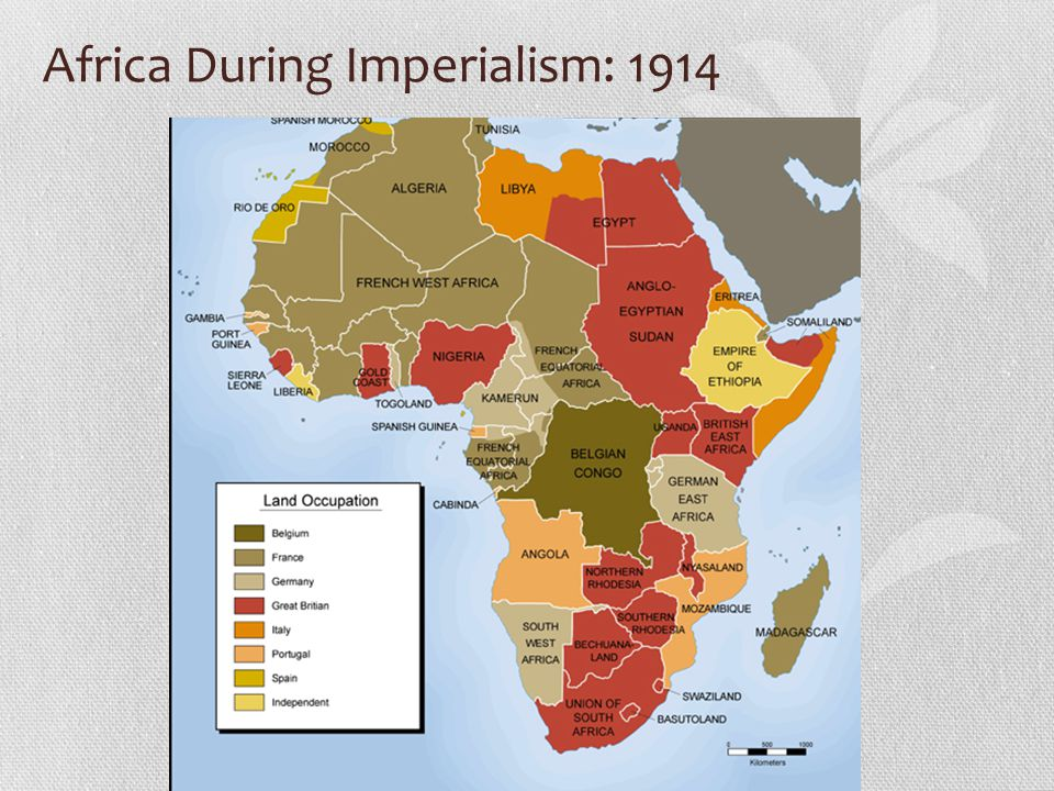 Africa During Imperialism: 1914