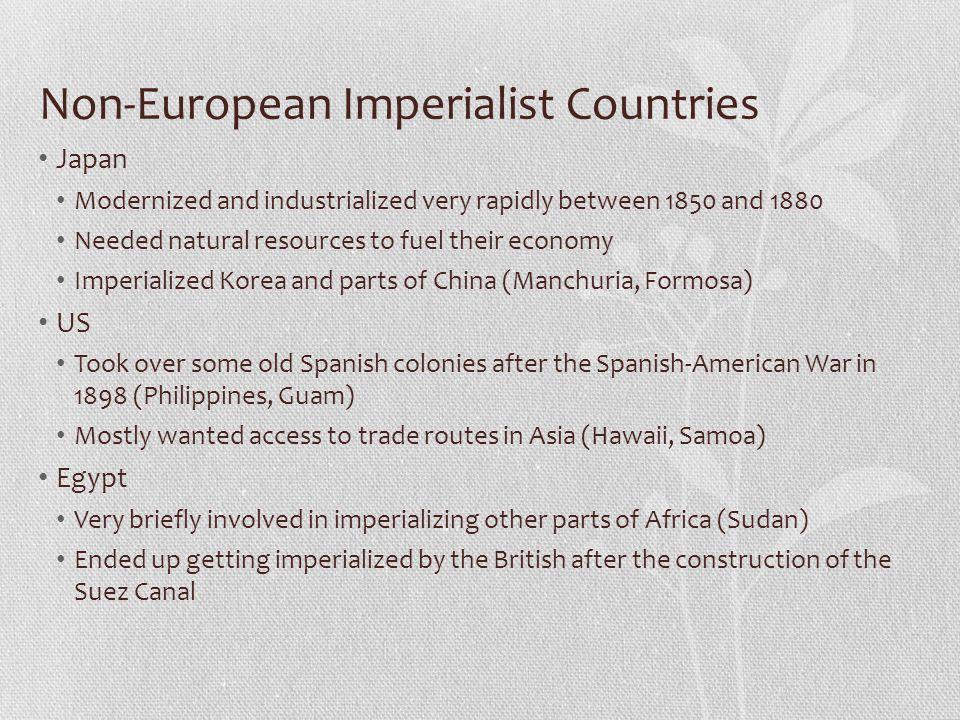 Non-European Imperialist Countries