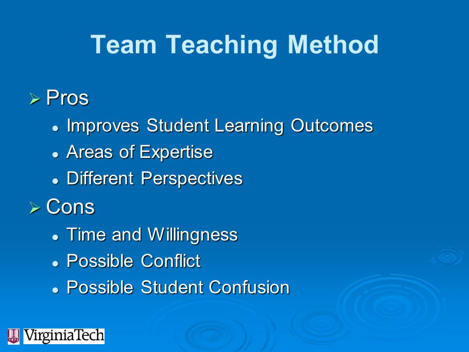 Team Teaching Method Pros Cons Improves Student Learning Outcomes