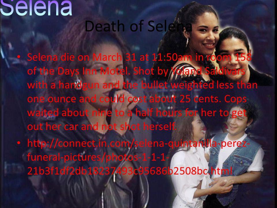 Death of Selena